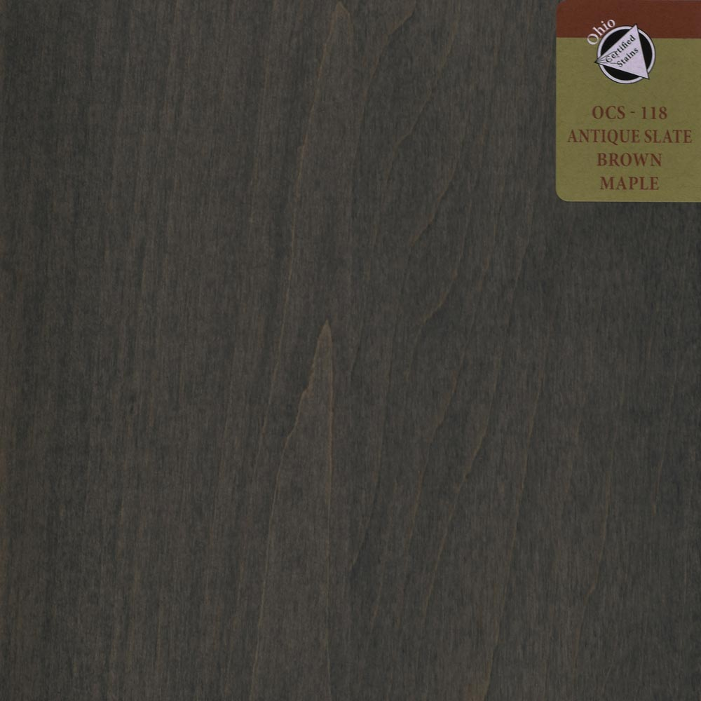 OCS 118 ANTIQUE SLATE BROWN MAPLE